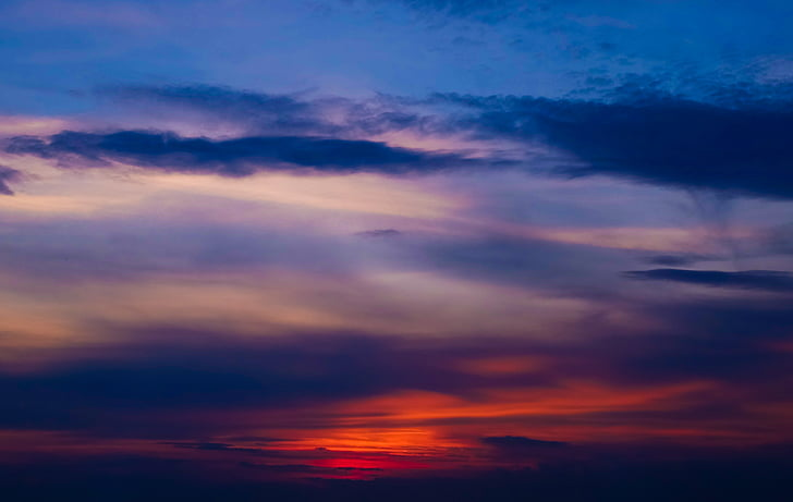 photo, sunset, cloudy, day, cloud - sky, beauty in nature, sky