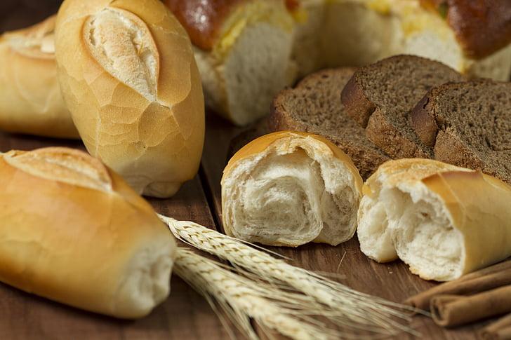 chleb, jedzenie, biały, domowej roboty, Piekarnia, dla smakoszy, kuchnia