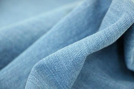 牛仔, 牛仔裤, 布, 材料, 纹理, 纺织, 蓝色
