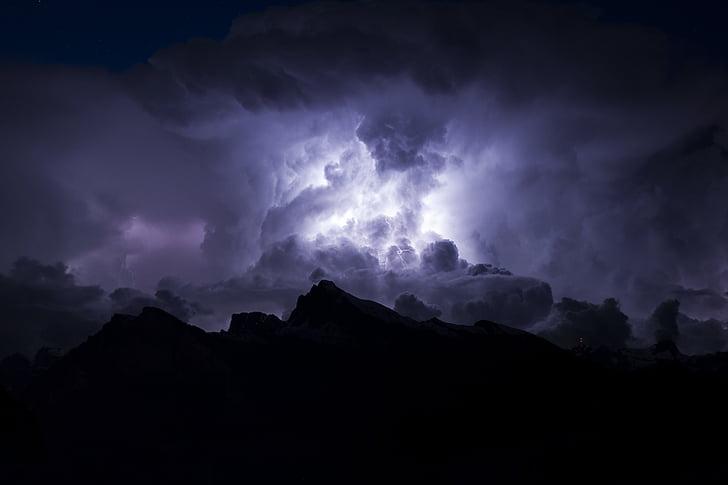 núvol, formació, cel, núvol de tempesta, núvols de tempesta, tempestes, fosc