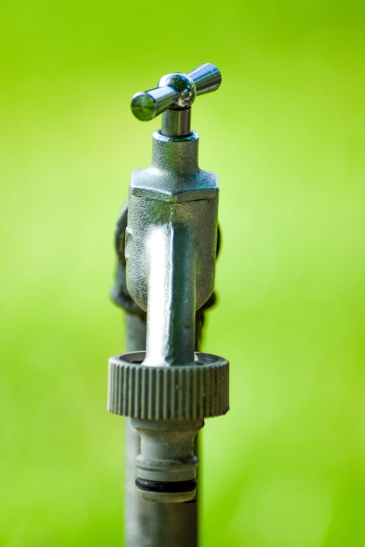 Aixeta, l'aigua, Hahn, Vàlvula, connexió, aigua potable, metall