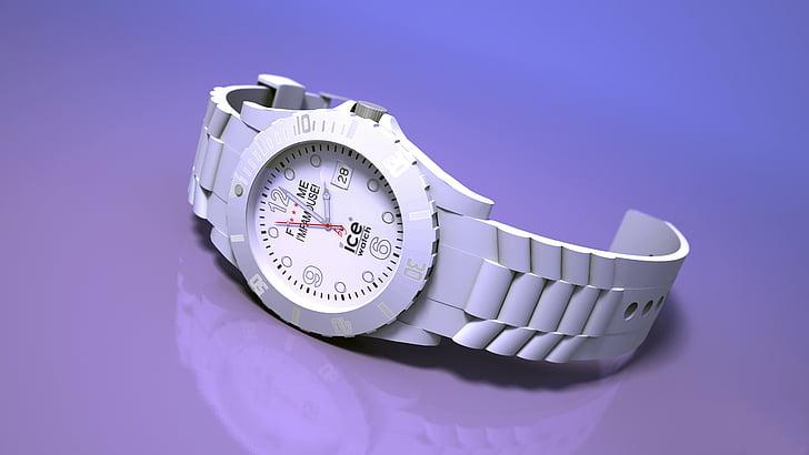gel veure, temps, veure, rellotge de canell, rellotge de polsera, rellotge