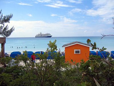 plajă, mare, ocean, vacanta, apa, vara, turism
