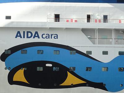 kruizas, laivas, keleivinis laivas, uosto, Baltijos jūros, Kylis, vandens