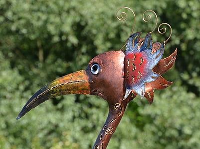 bird of paradise, bird, garden, animal, nature, wildlife, multi Colored