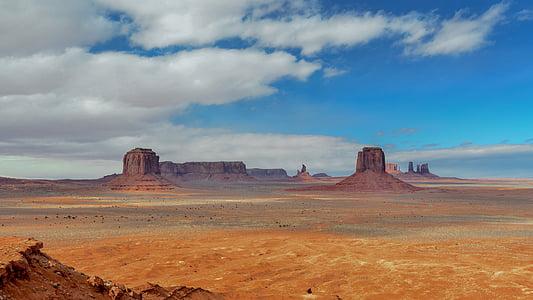 desert landscape, mountains, desert, landscape, sky, rock, red