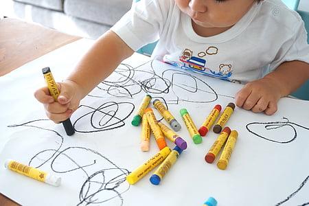 oekaki, drawing, children, graffiti, draw a picture, crayon, infatuation