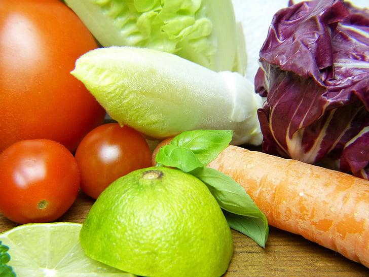 vegetables, lemon, healthy, nutrition, vitamins, eat, frisch