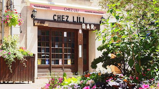 restaurant, trade, city, bar, prémery, nièvre