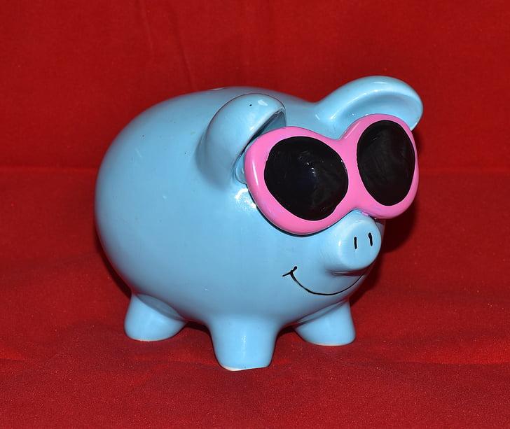 Guardiola, blau, ulleres, diners, Desa