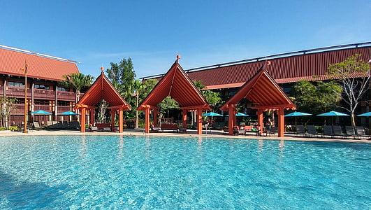 Yüzme Havuzu, Havuz suyu, Havuzu, Resort