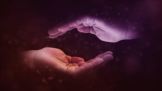 mans, junts, encaixada de mans, donar, comunitat, humà, grup