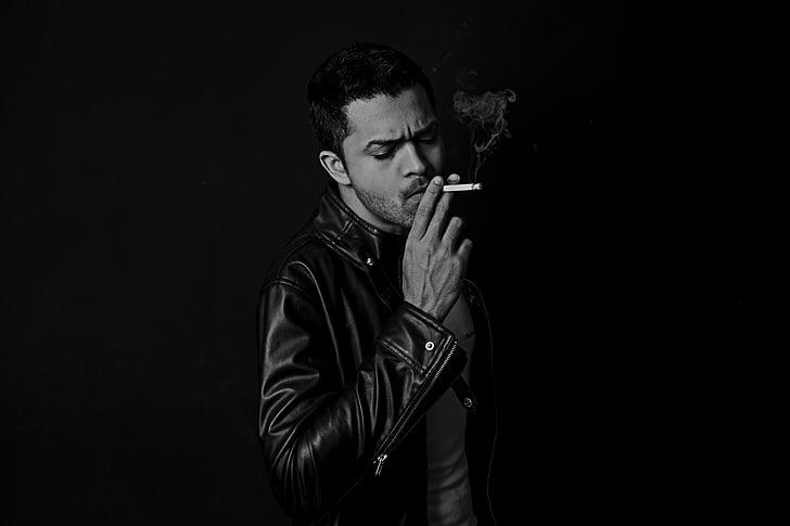 cigarret, fosc, home, fum, fumar, homes, persones