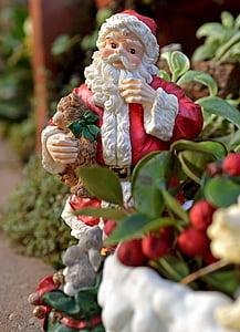 santa claus, christmas, xmas, december, holidays, seasonal, celebration