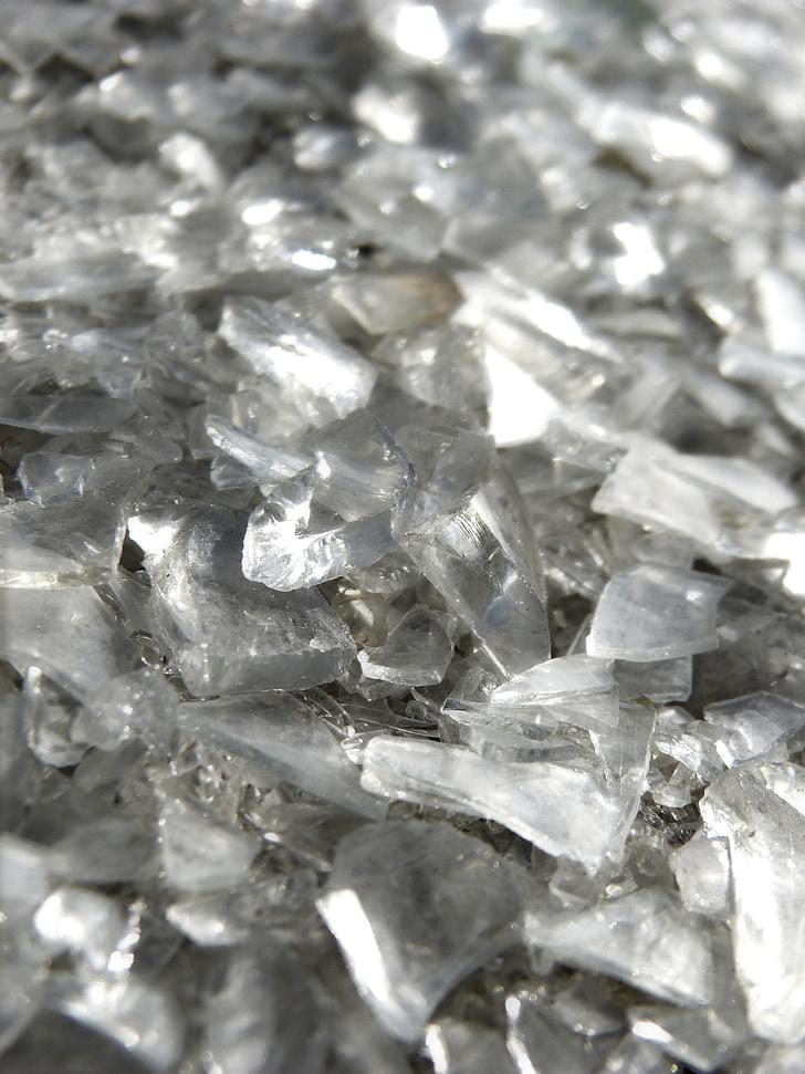 vidres trencats, cristalls, fons, textura, ulleres, vidres trencats, Cristall