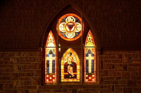 vidrieres, l'església, finestra, cristiana, religió, Catedral, gòtic