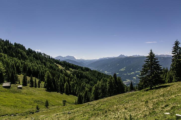 més, destinació, veure, punt de vista, muntanya, oci, altiplà