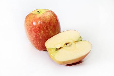 jabuka, crvena jabuka, voće, hrana, hrana i piće, Studio pucao, zdrava ishrana
