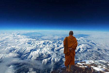 Buda, munk, budism, Meditatsioon, valgustusajastu, religioon, Usk