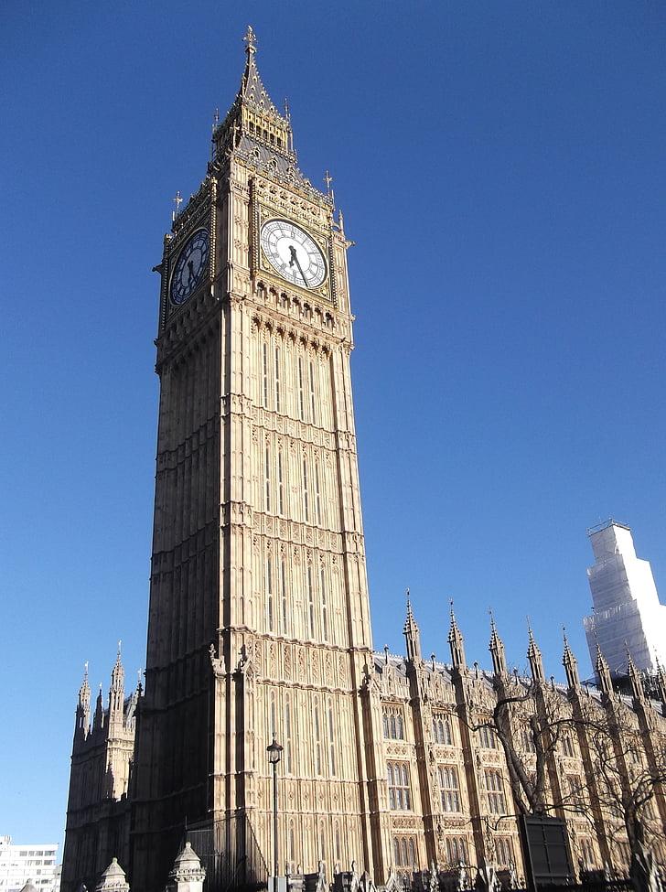 Big ben, Lontoo, Englanti, Tower, Maamerkki, Iso-Britannia, Britannian