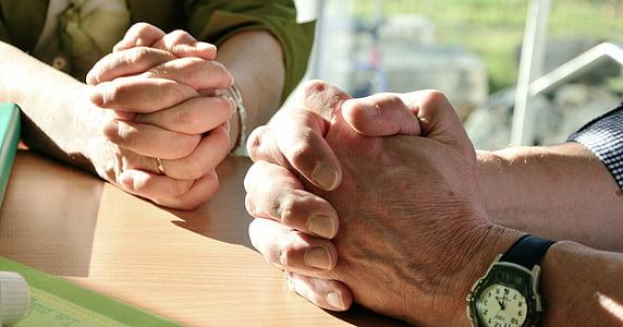 hands, pray, prayer, praying hands, faith, folded, hope