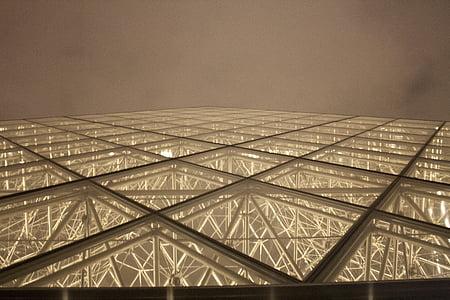 Pariis, muuseum, kaasaegne, Prantsusmaa, Euroopa, arhitektuur, Louvre
