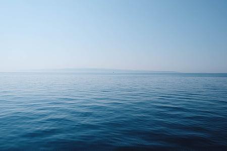 Природа, океан, на открытом воздухе, спокойный, мне?, морской пейзаж, небо