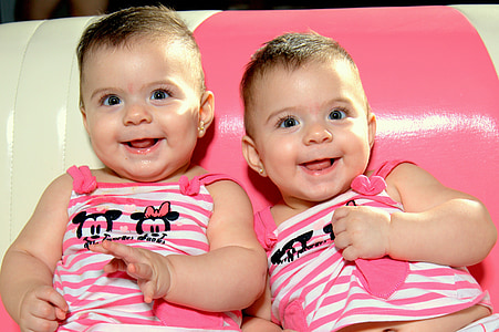 baby, twins, smile, child, cute, boys, childhood