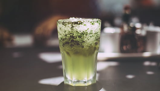 酒精, 酒吧, 饮料, 鸡尾酒, 饮料, 宏观, 喝了杯