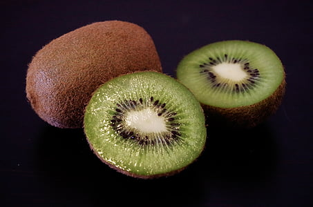quivi, frutas, verde, saudável, corte