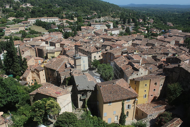 village, house, french village, tourist town, mountain village, old house, old houses
