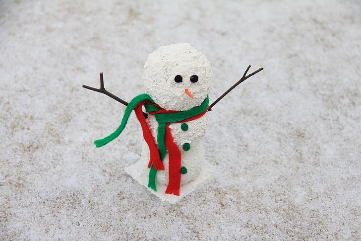 lumememm, talvel, lumi, jõulud, Holiday, Xmas, hooaja