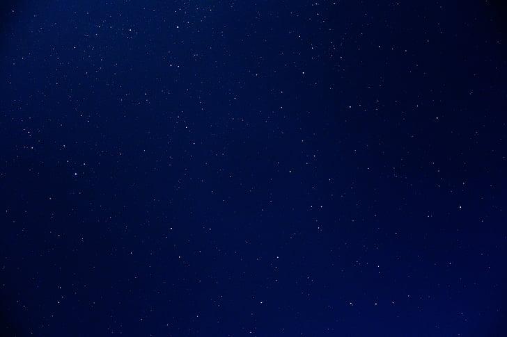 nattehimmelen, Star, himmelen, stjernehimmelen, plass, natt, universet