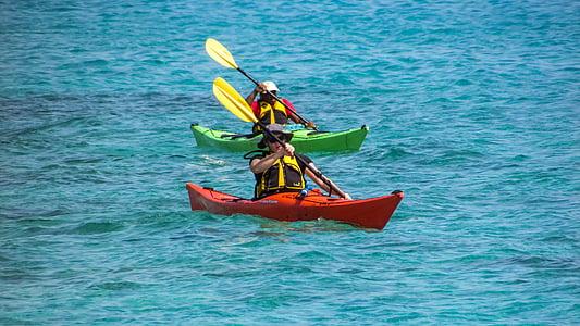 canoë kayak, sport, kayak, canoë-kayak, été, aventure, activité