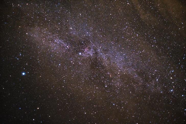 himmelen, natt, tid, plass, Star, natt star, nattehimmelen
