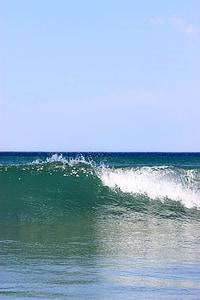 gelombang, laut, Australia, air pasang, basah, gelombang laut, laut