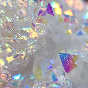 Engel-aura, Opal-aura, Aura, Quarz, Cluster, Druzy, Geode