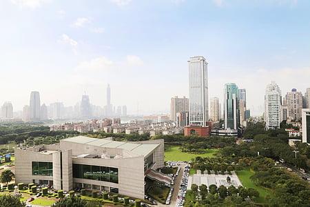 xiamen, city, china, the urban landscape