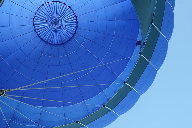 globus, cel, globus aerostàtics, vent, Direcció del vent, aire, globus captiu