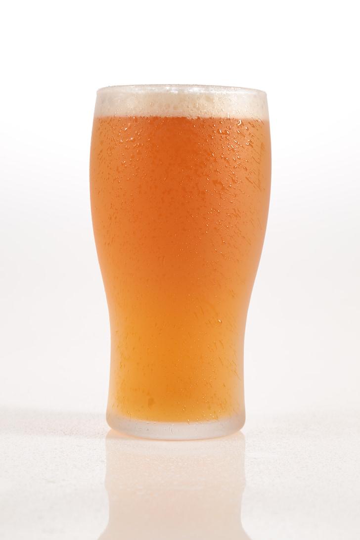 õlu, pint, kuldne, külm, juht, Värskendav