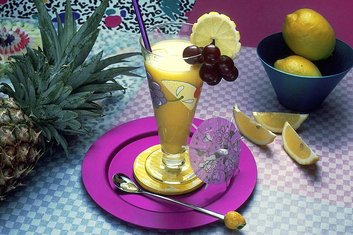 boissons de fruits, frais, fruits, alimentaire, boisson, jus de, santé