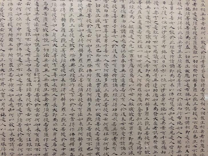 caràcters xinesos, personatges, xinès