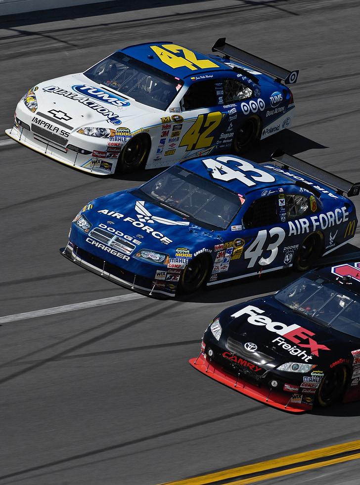 Automobilisme, NASCAR, cotxe, esport, carreres, Speedway, conductor