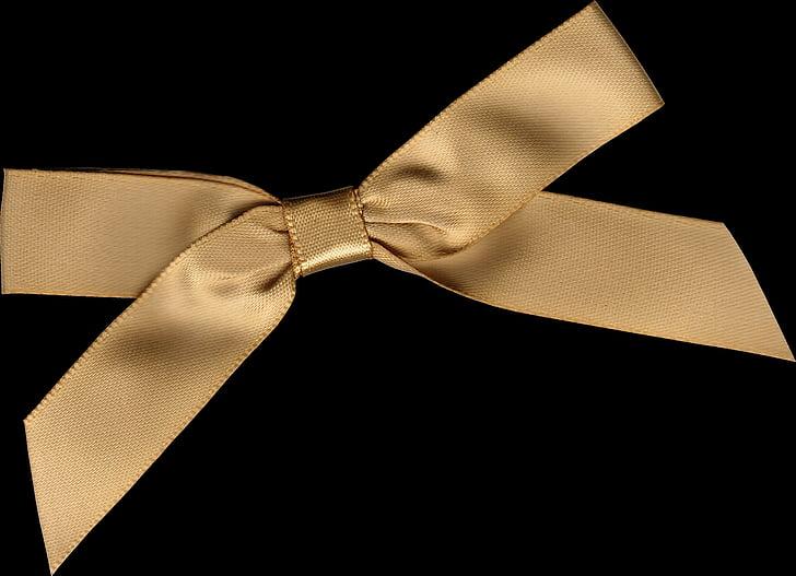 band, gift loop, gold, gift, bow, decoration, ribbon
