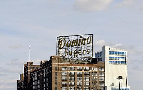 sucres de dòmino, Baltimore, Port, indústries, arquitectura, edifici, disseny d'arquitectura
