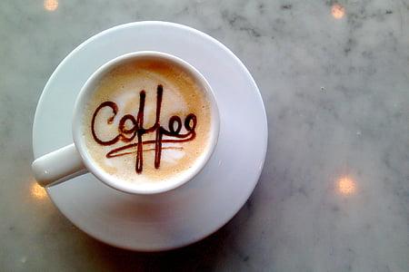 kopi, sandwich, kantin, biji-bijian kopi, biji kopi, barang, Makanan