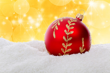 sfera di Natale, Bagattella, celebrazione, Natale, decorazione, vetro, Vacanze