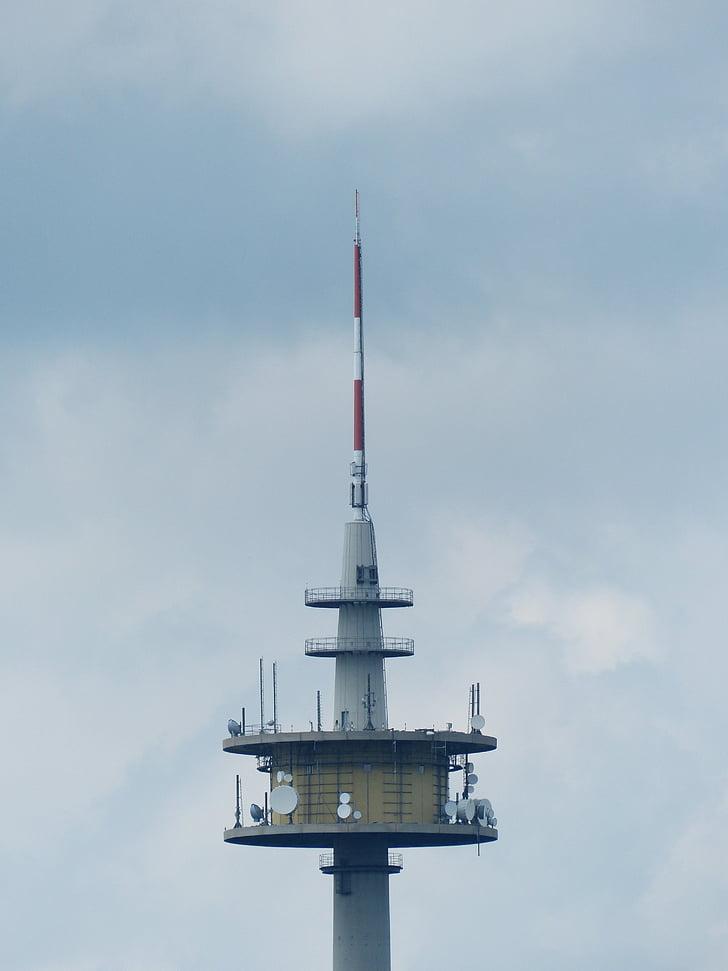 라디오 타워, 송신 탑, 플랫폼을 보내기, 타워, 독일 라디오 타워 gmbh, 북단, plettenbergplateau