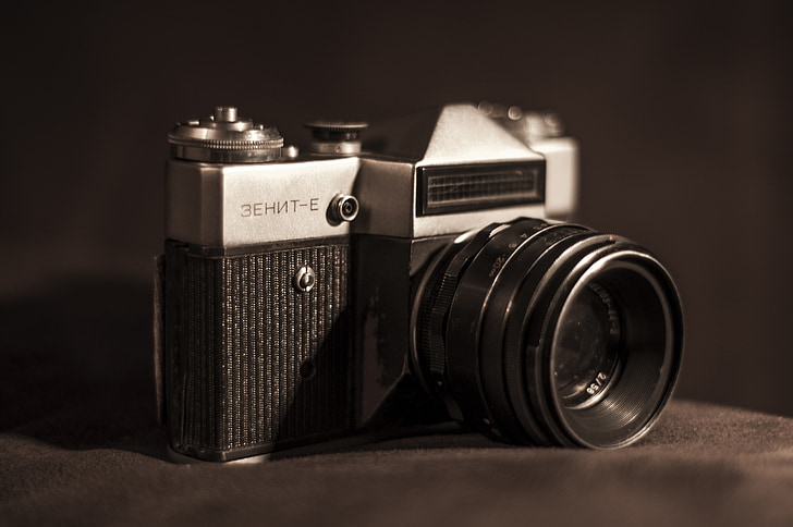 camera, retro, analog, vintage, old, photography, equipment