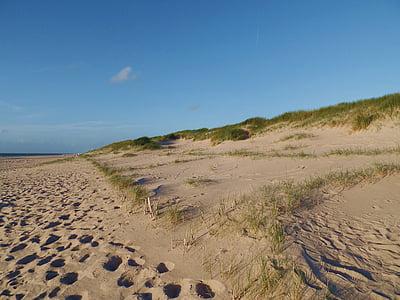 пляж, Северное море, Sylt, побережье, праздник, мне?, песчаный пляж